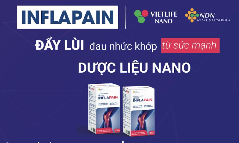 Inflapain – giải pháp đột phá từ sức mạnh nano dược liệu cho người bị viêm khớp gối 1