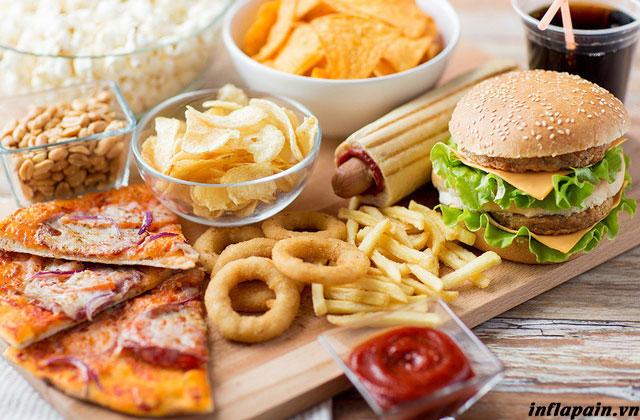 Viêm đau khớp gối nên ăn gì và kiêng gì ? 1