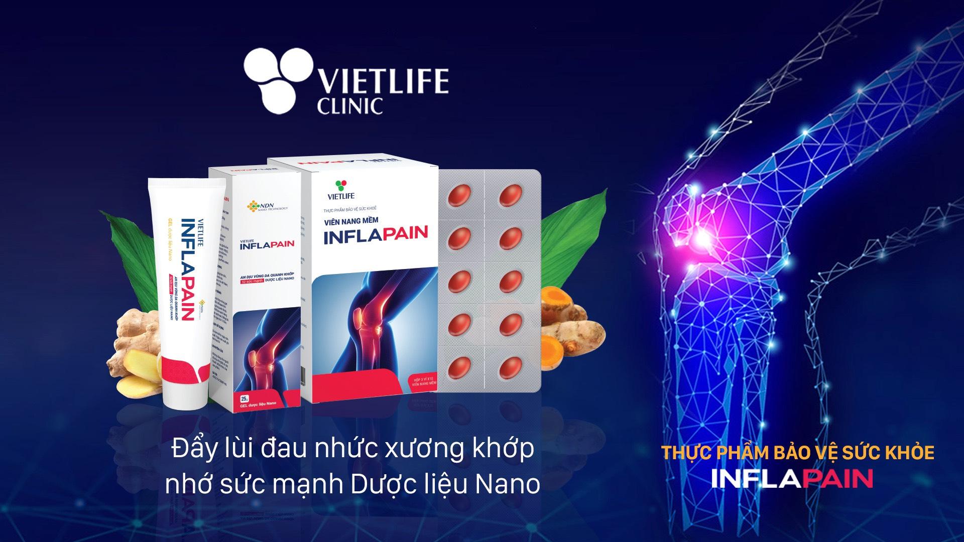 Sử dụng Vietlife Inflapain có tác dụng phụ không? 1