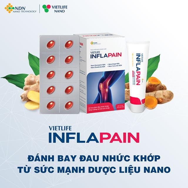 Inflapain - giải pháp giúp cải thiện tình trạng đầu gối sưng đau