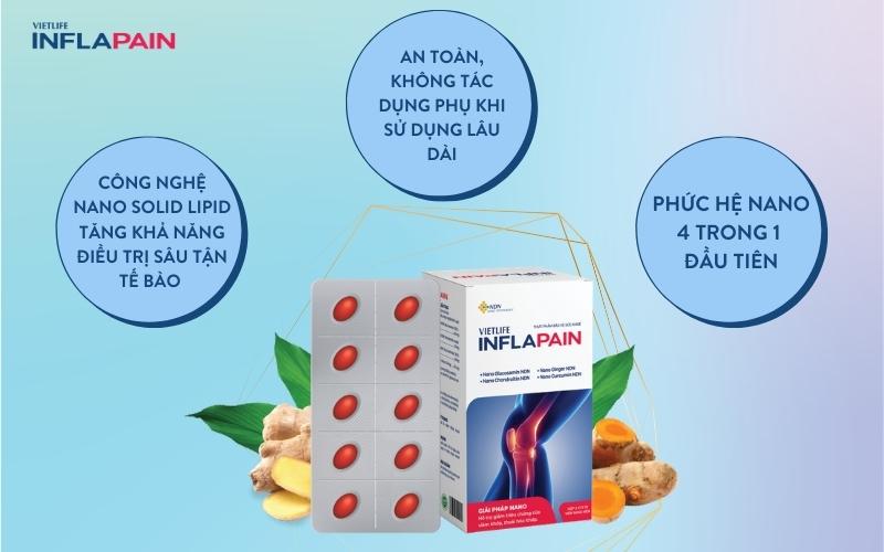 Inflapain - Giải pháp tối ưu các bệnh lý cơ xương khớp